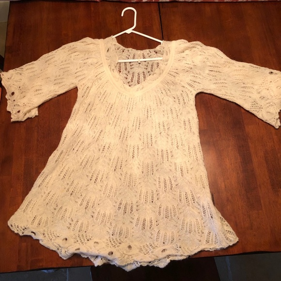 Free People Tops - Knitted Tunic